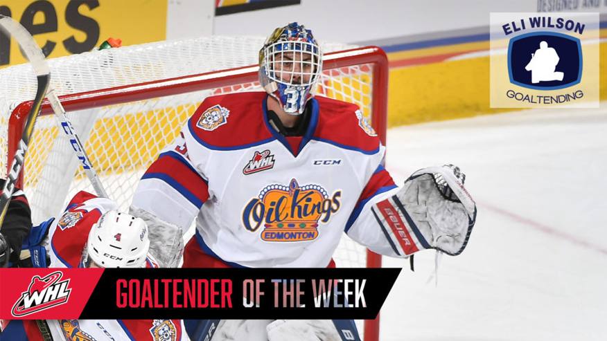 f7c4bd73f20 Oil Kings' Myskiw Named WHL Goaltender of the Week - Hockey Manitoba