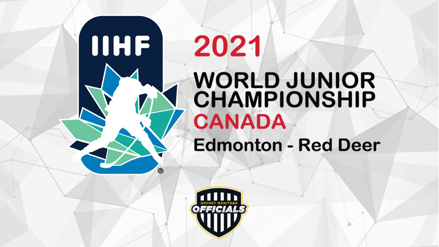 Mahoney And Roeland Selected To Officiate At The 2021 World Juniors In Edmonton